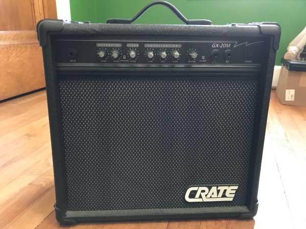 Photo CRATE Guitar Amp Model GX-20M - $50 (Meadville)