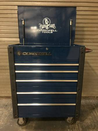 Cornwell Pro Series 5 Drawer Tool Box Tool Cart 675 Meadville Tools For Sale Meadville Pa Shoppok