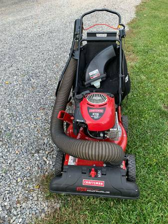 Photo Craftsman 24quot 190cc 4-in-1 chipper shredder yard vacuum - $100 (Sandy Lake)