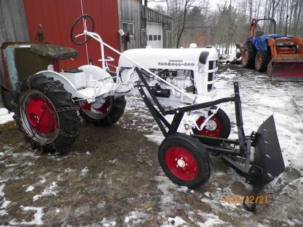 Photo Farmall Cub Tractor Plow - $2,200 (Union City Pa)