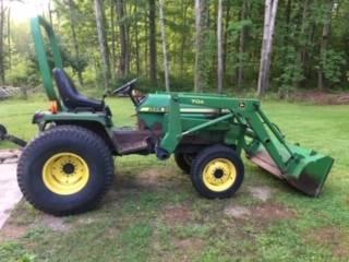 Photo John Deere 955 tractor wloader - $9,000 (Fairviw, PA)