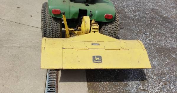 Photo John Deere Garden Tractor Rototiller E0621 44quot fits JD 140  others - $400 (Jamestown, PA)