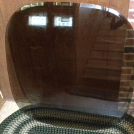 Photo Large Smoked Glass Table Top - $30 (Fairview Park)