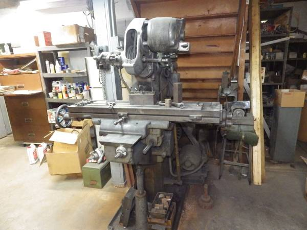 Photo Milwaukee mill w Bridgeport milling head - $1,500 (OLMSTED FALLS)