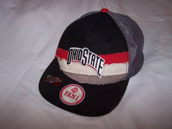 Photo Ohio State O.S.U. attractive cap with a velcro back strap to secure - $15 (Painesville)