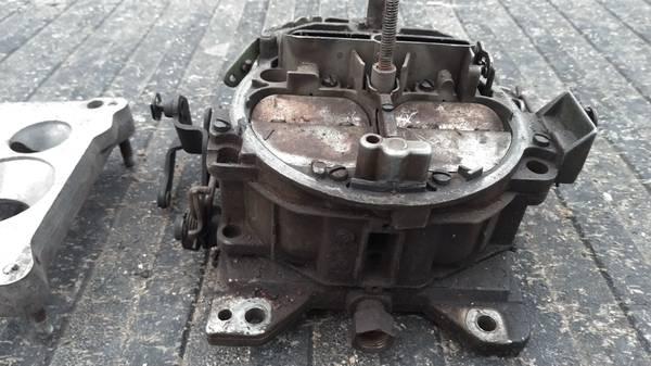 Photo QUADRA-JET , Q Jet 4 Barrel Carburetor Fits CHEVY - $65 (Meadville)