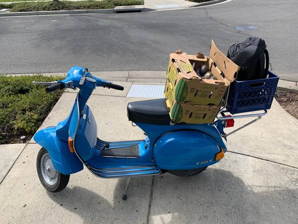 Photo 1980 Vespa P200 - $3,750 (Ashland)