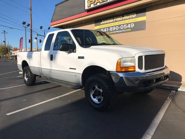 Photo 2001 FORD F250SD SUPERCAB 4WD 7.3 POWERSTROKE DIESEL SUPER CLEAN - $9500 (MEDFORD)