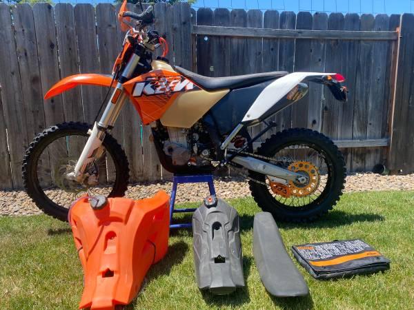 Photo 2011 KTM 450 exc - $5,200 (Medford)