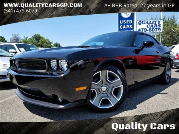 Photo 2013 Dodge Challenger RT ONLY 31K MI, 6-SPEED MANUAL, HTD LTHR Hot - $21999 (For More Info Please Visit Our Website at qualitycarsgp.com)