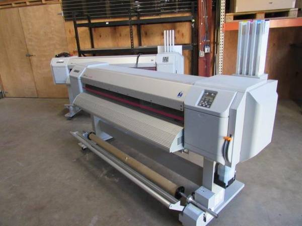 Photo 2 LIKE NEW Mutoh ValueJet 1624X Printer Equipment Auction