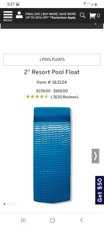 Photo 2 PoolLake Floats for the price of 1 - $150 (Central Point)
