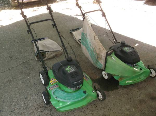 Photo 2 Silver Series Lawn Boy self propelled 2 cycle Commercial Lawn Mowers - $150 (Grants Pass)
