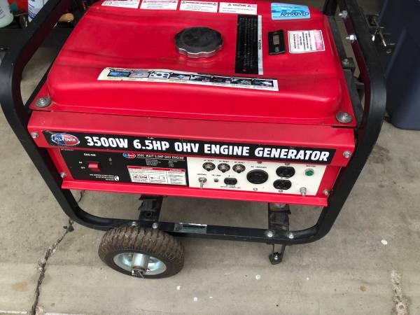 Photo All Power 3500 watt Generator - $225 (Medford)