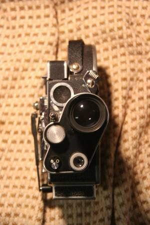 Photo Bolex Paillard H8 Reflex wind up 8mm film movie camera - $501 (Ashland)
