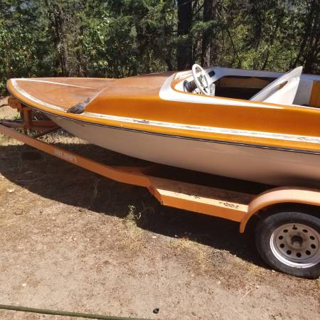 Photo Chevy 427 Sanger Vintage Boat - $1500 (Shady Cove)