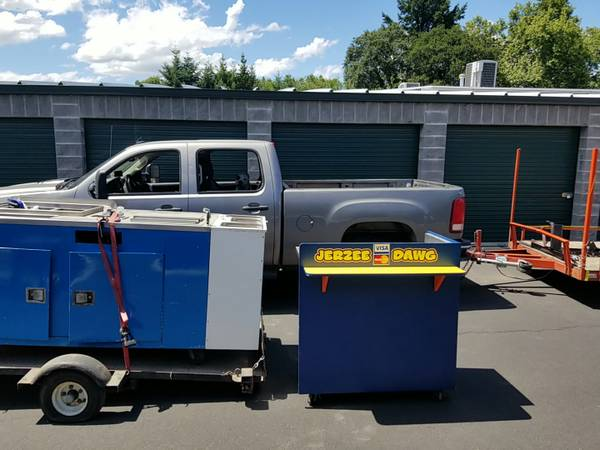 Photo Food  Hot dog cart and everything you need Price reduced Make offer - $5000 (Grants Pass)