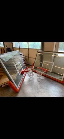 Photo Gared glass basketball backboards - $1,200 (Ashland)