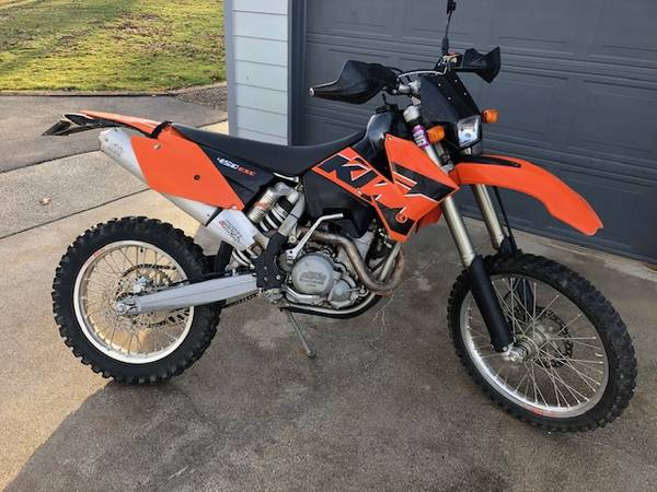Photo KTM 450 EXC -Street Leal - $4,200 (Jacksonville)