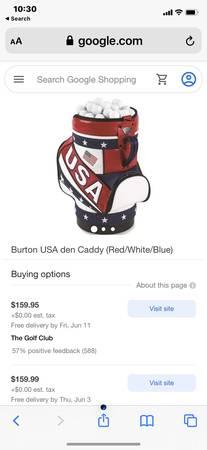 Photo Mini USA golf bag - $50 (Medford)