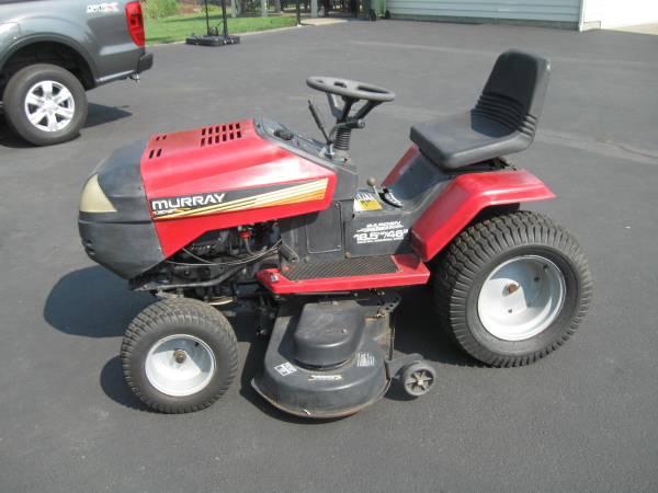 Photo Murray riding mower - $450 (Grants pass)