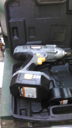 Photo Nicely Used 24 volt 12 quot Impact - $40 (Rogue River)