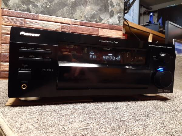 Photo Pioneer Elite VSX-D912-K Home Theater Stereo Receiver - $50 (Grants Pass)