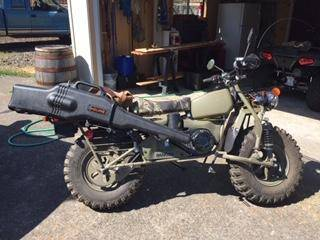 Photo Rokon Motorcycle - $7800 (Ashland)