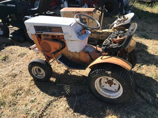 Photo Sears Suburban garden tractor - $100 (Medford)