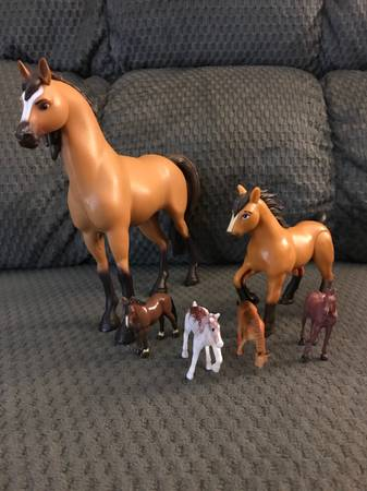 Photo Toy Horse Collection - $7 (Medford)