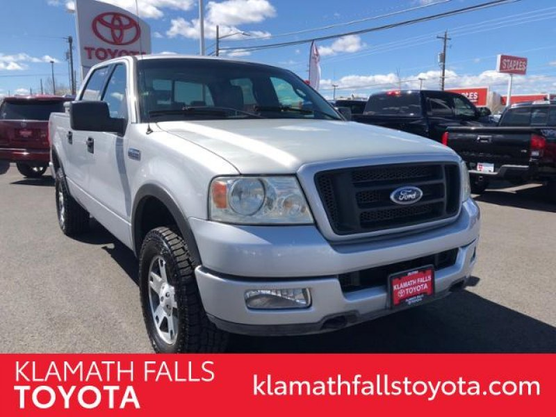Photo Used 2004 Ford F150 4x4 SuperCrew FX4 for sale