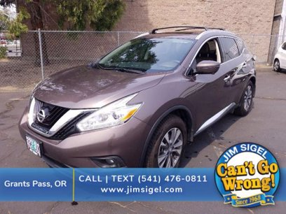 Photo Used 2017 Nissan Murano SL for sale
