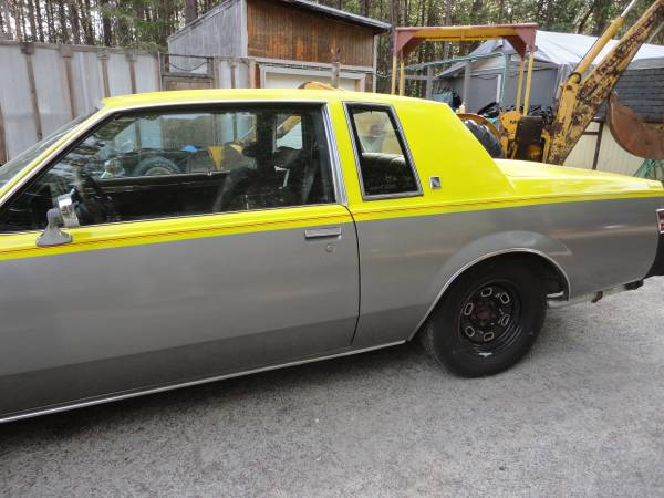 Photo a sleeper 84 buick regal,455 cu - $4800 (707 pyle dr,grants pass,or)