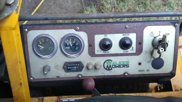 Photo walker mddghs mower - $6,500 (Medford)
