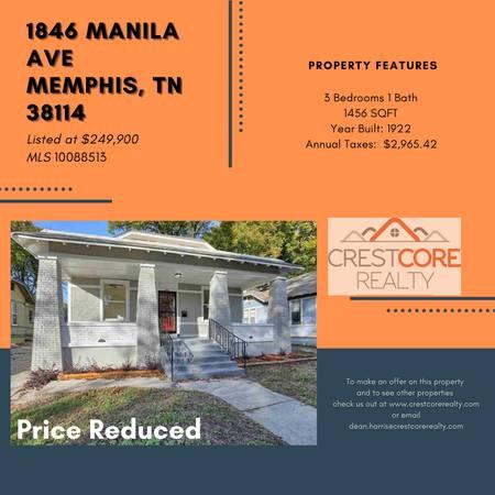 Photo 1846 Manila Ave Memphis, TN 38114 (Memphis)