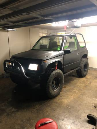 Photo 1990 SUZUKI SIDEKICK 4X4 - $1000 (Collierville)