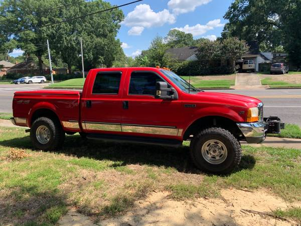Photo 1999 F250 FORD SUPER DUTY 4X4 V10 CREW CAB SWB (POPLAR  240)