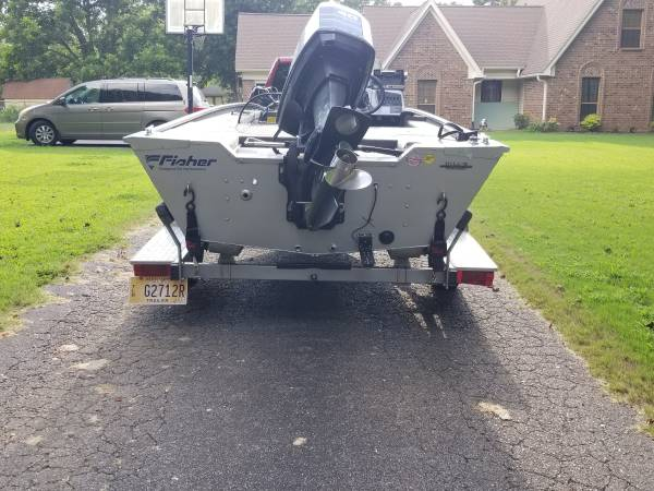 Photo 1999 Fisher Marsh Hawk Bass Boat - $4,500 (Southaven, Ms)