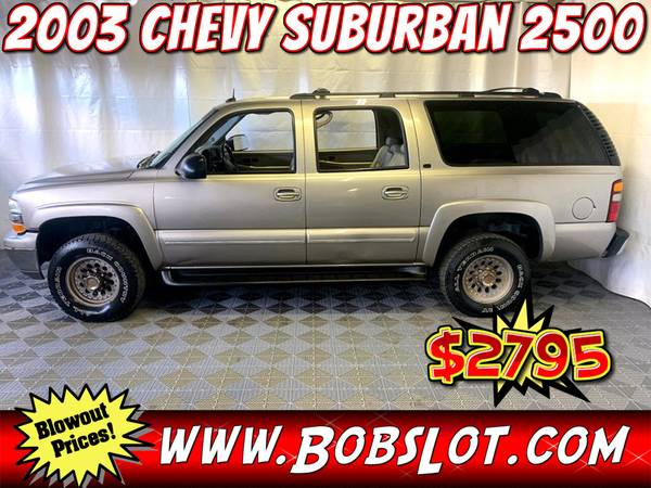 Photo 2003 Chevrolet Suburban 2500 Chevy SUV 4WD - $2,795 (memphis)