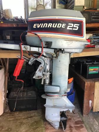 Photo 25HP Evinrude Etec Outboard - $1,850 (Cordova)