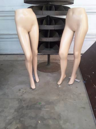 Photo 2 female lower mannequins - $60 (Millington)