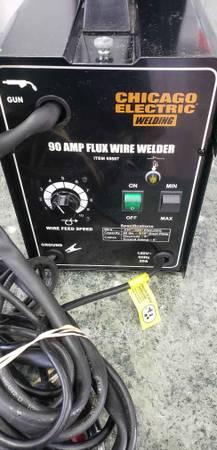 Photo Chicago Electric Welder 90 Amps - $150