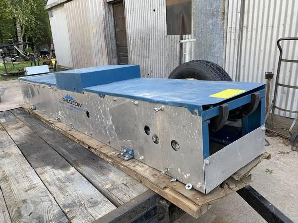 Knudson Seamless 6 Gutter Machine 5500 Tools For Sale Memphis Tn Shoppok