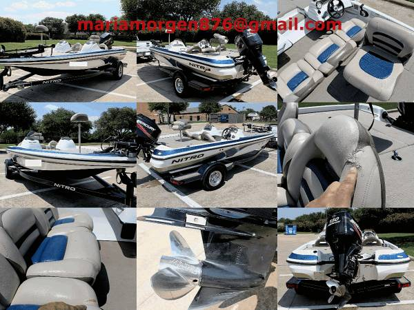 Photo Nitro Boat SALE - $1599