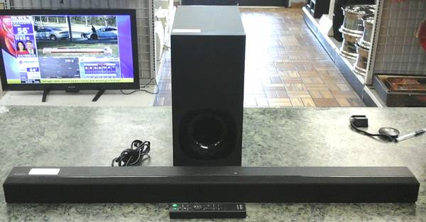 Photo Sony Sound Bar w Sub  Remote. Sa-Wct180 - $89 (Bestpawn)