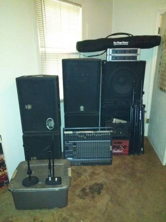 Photo Sound System for sale. Great Small  Medium size gig rig or install - $4,200 (Memphis)