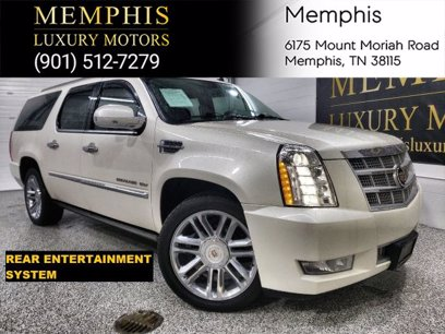 Photo Used 2014 Cadillac Escalade ESV AWD Platinum for sale