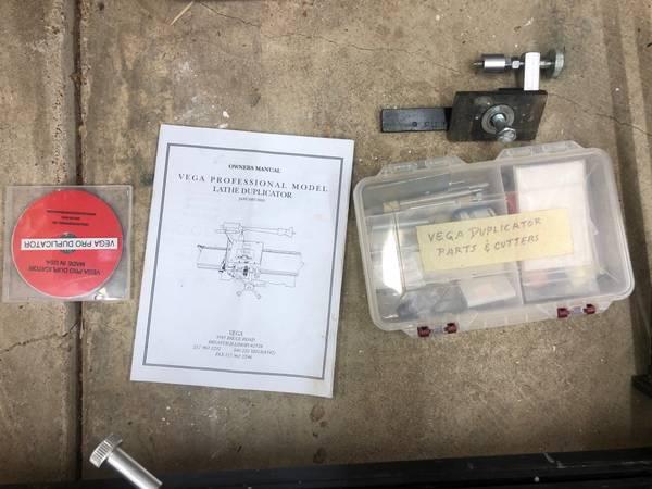 Photo Vega duplicator for wood lathe - $600 (east memphis)