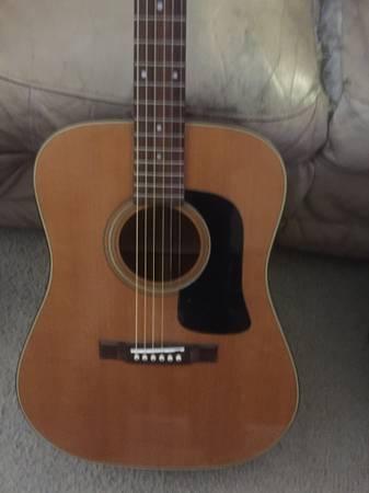 Photo Washburn acoustic guitar (Bartlett)