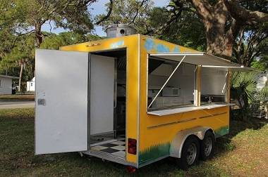 Photo --- 14 ft Gwen Catering Fast Food trailer  For sale ---- - $800 (memphis)